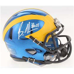 Brandon Graham Signed Michigan Wolverines Chrome Speed Mini-Helmet (Radtke COA)