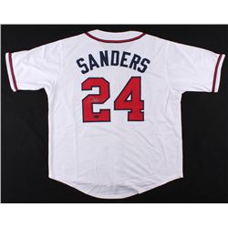 Deion Sanders Signed Atlanta Braves Jersey (Radtke COA)