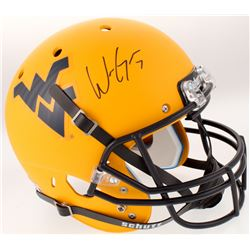 Will Grier Signed West Virginia Mountaineers Full-Size Helmet (JSA COA)