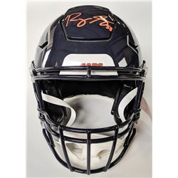 Roquan Smith Signed Chicago Bears Full-Size Authentic On-Field Speedflex Helmet (Beckett COA)