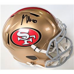 George Kittle Signed San Francisco 49ers Full-Size Speed Helmet (Beckett COA)