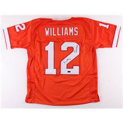 "Doug Williams Signed Tampa Bay Buccaneers Jersey Inscribed ""1979 Central Champs"" (Radtke COA)"