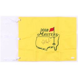 Fred Couples Signed 2018 Masters Golf Pin Flag (JSA COA)