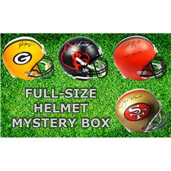 Schwartz Sports Football Superstar Signed Full-Size Football Helmet Mystery Box - Series 6 (Limited
