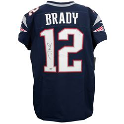 Tom Brady Signed Authentic Nike Elite New England Patriots Jersey (TriStar Hologram)