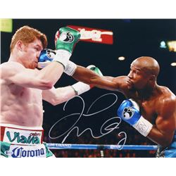 Floyd Mayweather Jr. Signed 16x20 Photo (Beckett COA)