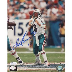 Dan Marino Signed Miami Dolphins 8x10 Photo (JSA COA  Marino Hologram)