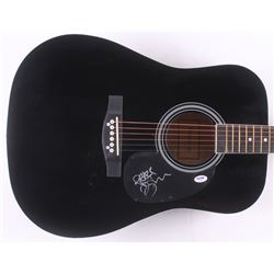 "Tim Reynolds Signed 38"" Acoustic Guitar Inscribed ""Peace"" (PSA COA)"