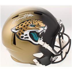 Myles Jack Signed Jacksonville Jaguars Full-Size Speed Helmet (Beckett COA)
