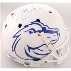 Demarcus Lawrence Signed Boise State Broncos Full-Size Helmet (Radtke COA)