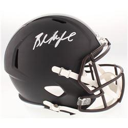 Baker Mayfield Signed Full-Size Custom Matte Black Speed Helmet (Beckett COA)