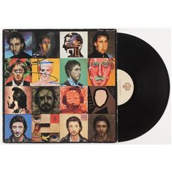 """Pete Townshend Signed """"The Who- Face Dances"""" Vinyl Record Covered (JSA COA)"""