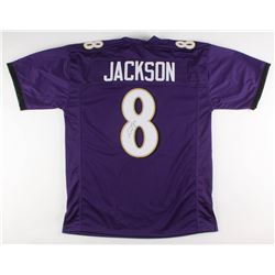 Lamar Jackson Signed Baltimore Ravens Jersey (JSA COA)