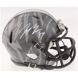 Joey Bosa Signed Ohio State Buckeyes Speed Mini Helmet (Radtke COA)