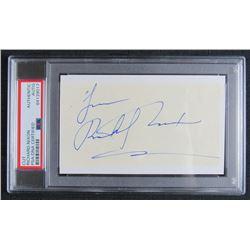 "Richard Nixon Signed Cut Inscribed ""Love"" (PSA Encapsulated)"