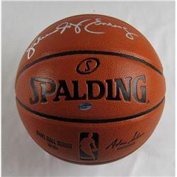 """Julius """"Dr. J"""" Erving Signed NBA Game Ball Series Basketball (Leaf COA)"""