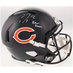 "Allen Robinson Signed Chicago Bears Full-Size Speed Helmet Inscribed ""Bear Down"" (Schwartz Sports CO"