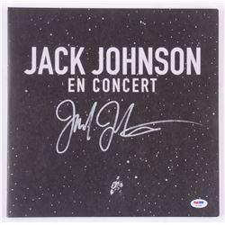"Jack Johnson Signed ""En Concert"" Vinyl Record Album Cover (PSA COA)"