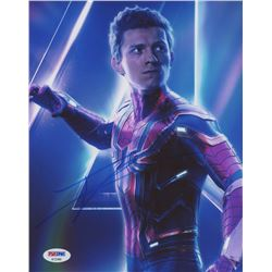 "Tom Holland Signed ""Spider-Man"" 8x10 Photo (PSA COA)"