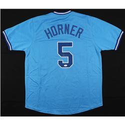 Bob Horner Signed Atlanta Braves Jersey (JSA COA)