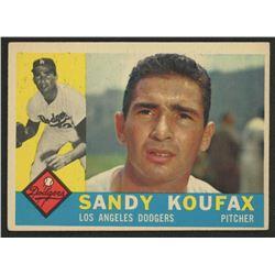 1960 Topps #343 Sandy Koufax