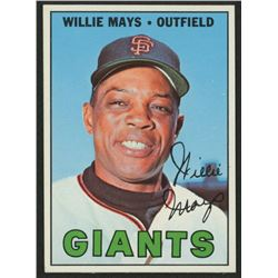 1967 Topps #200 Willie Mays