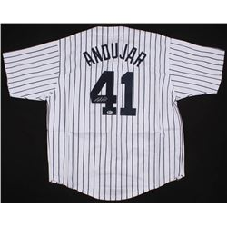 Miguel Andujar Signed New York Yankees Jersey (Beckett COA)