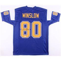 Kellen WInslow Signed San Diego Chargers Jersey (JSA COA)