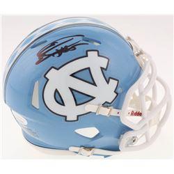 Eric Ebron Signed North Carolina Tar Heels Speed Mini-Helmet (JSA COA)