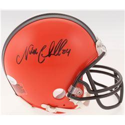 Nick Chubb Signed Cleveland Browns Mini-Helmet (JSA COA)