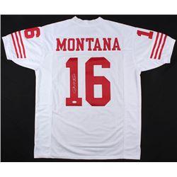 Joe Montana Signed San Francisco 49ers Jersey (JSA COA)