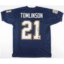 LaDainian Tomlinson Signed Los Angeles Chargers Jersey (JSA COA  Tomlinson Hologram)