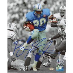 Barry Sanders Signed Detroit Lions 8x10 Photo (Beckett COA)