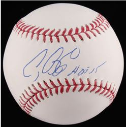 "Craig Biggio Signed OML Baseball Inscribed ""HOF 15"" (TriStar COA)"