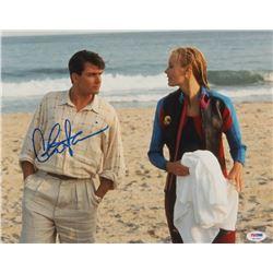 Charlie Sheen Signed  Wall Street  11x14 Photo (PSA COA)
