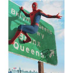 "Tom Holland Signed ""Spider-Man: Homecoming"" 11x14 Photo (PSA COA)"