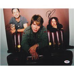 John Rzeznik, Robby Takac  Mike Malinin Signed Goo Goo Dolls 11x14 Photo (PSA LOA)