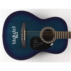 "Kiefer Sutherland Signed ""The Lost Boys"" 39"" Acoustic Guitar (Beckett COA)"