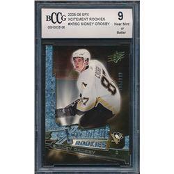 2005-06 SPx Xcitement Rookies #XRSC Sidney Crosby (BCCG 9)