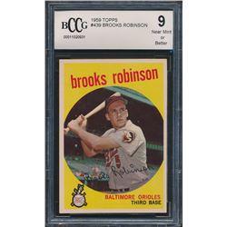 1959 Topps #439 Brooks Robinson (BCCG 9)