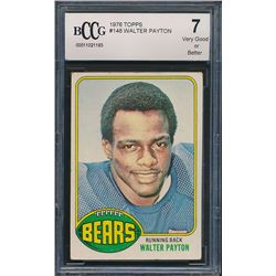 1976 Topps #148 Walter Payton RC (BCCG 7)