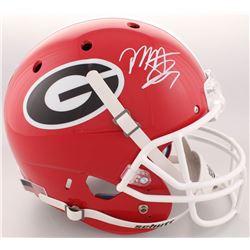 Mecole Hardman Signed Georgia Bulldogs Full-Size Helmet (Radtke COA)