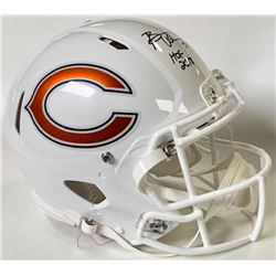 "Brian Urlacher Signed Chicago Bears Full-Size Authentic On-Field Speed Helmet Inscribed ""HOF 2018"" ("