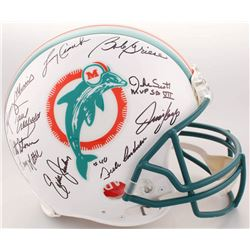 1972 Super Bowl Champions Miami Dolphins Full-Size Authentic On-Field Helmet Signed by (22) with Bob