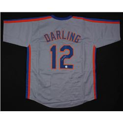 Ron Darling Signed New York Mets Throwback Jersey (Diamond Legends COA)