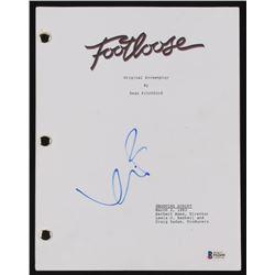 """Kevin Bacon  Signed """"Footloose"""" Full Movie Script (Beckett COA)"""