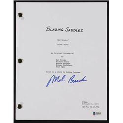 "Mel Brooks Signed ""Blazing Saddles"" Full Movie Script (Beckett COA)"