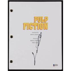 """John Travolta Signed """"Pulp Fiction"""" Full Movie Script (Beckett COA)"""