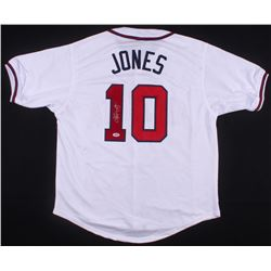Chipper Jones Signed Atlanta Braves Jersey (PSA COA)