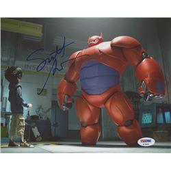 "Scott Adsit Signed ""Big Hero 6"" 8x10 Photo (PSA COA)"